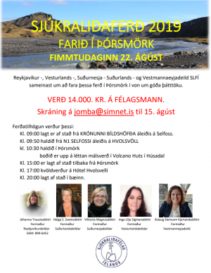 Sjúkraliðaferð 2019